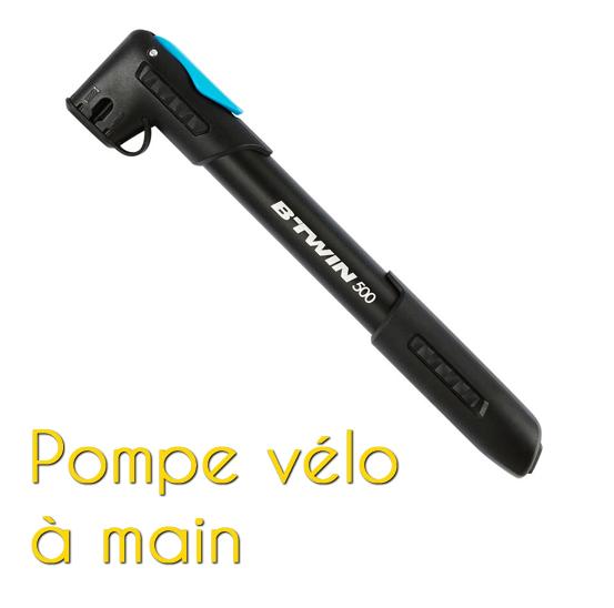 Pompe vélo à main