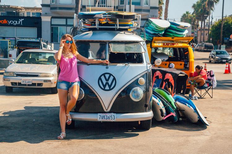 Volkswagen combi et Paddle